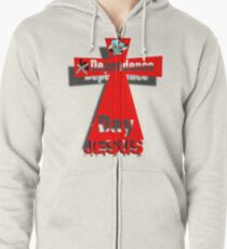 Dependence Day Zipped Hoodie
