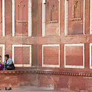 Intimate Moment, Agra by Alan Hovey