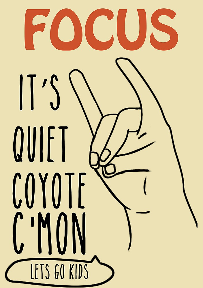 Quiet Coyote by lampiek