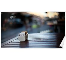 coffee table Poster