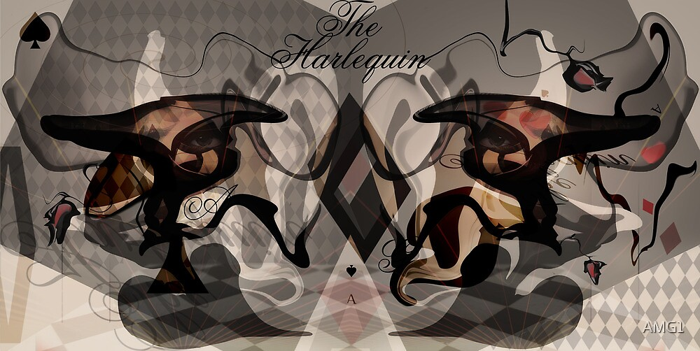 The Harlequin by AMG1
