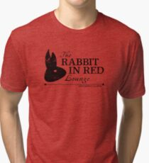 Rabbit in Red Lounge Tri-blend T-Shirt