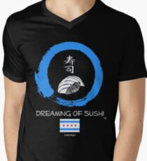 Dreaming of Sushi - Chicago Men's V-Neck T-Shirt