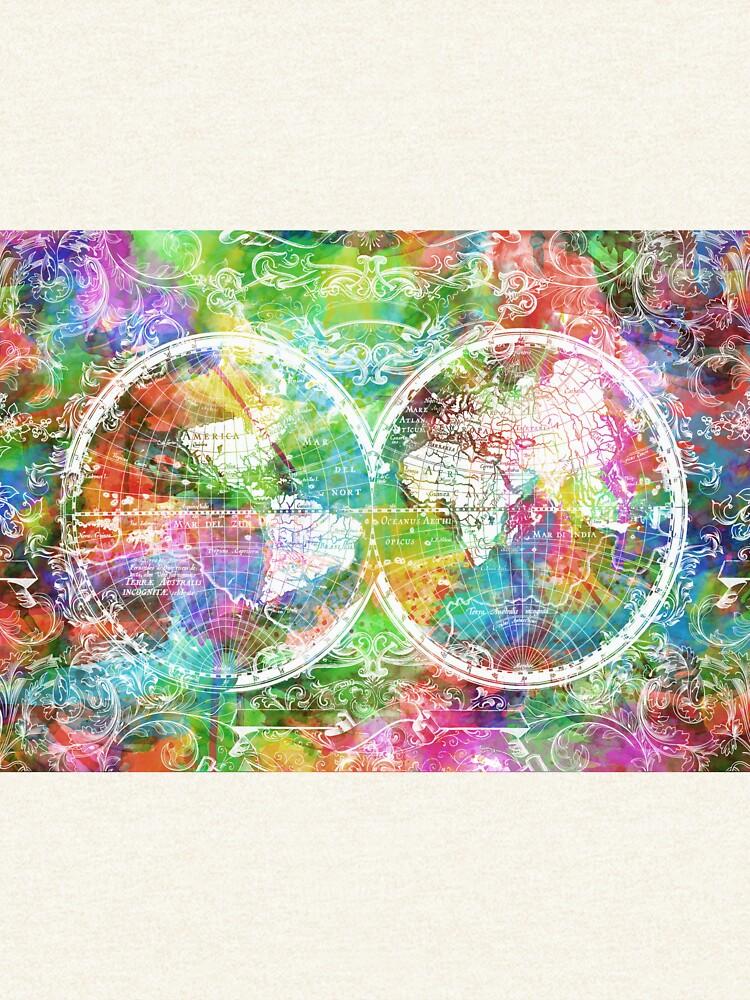 Weltkarte antik 4 von BekimART