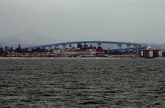 SAN DIEGO BAY CALIFORNIA MARCH 2009 by photographized