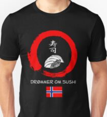 Dreaming of Sushi - Norway Unisex T-Shirt