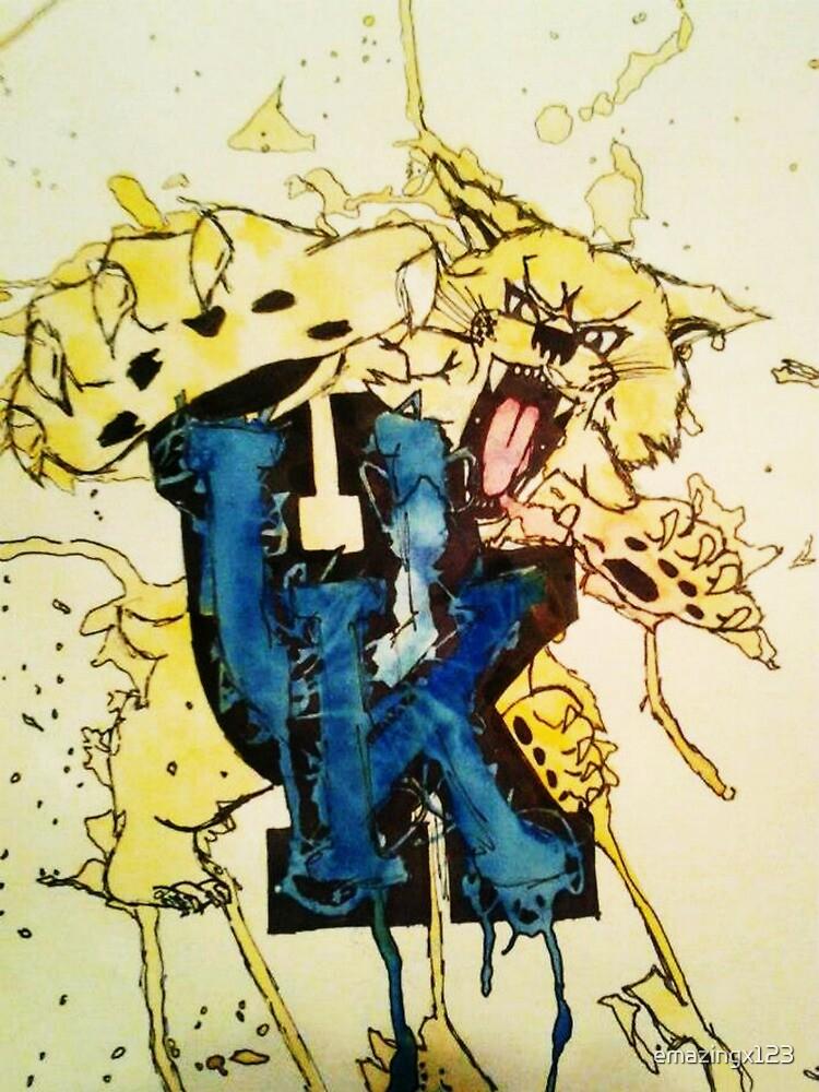 UK Cat Attack by emazingx123