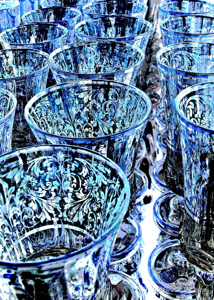 blue rims by Bruce  Dickson