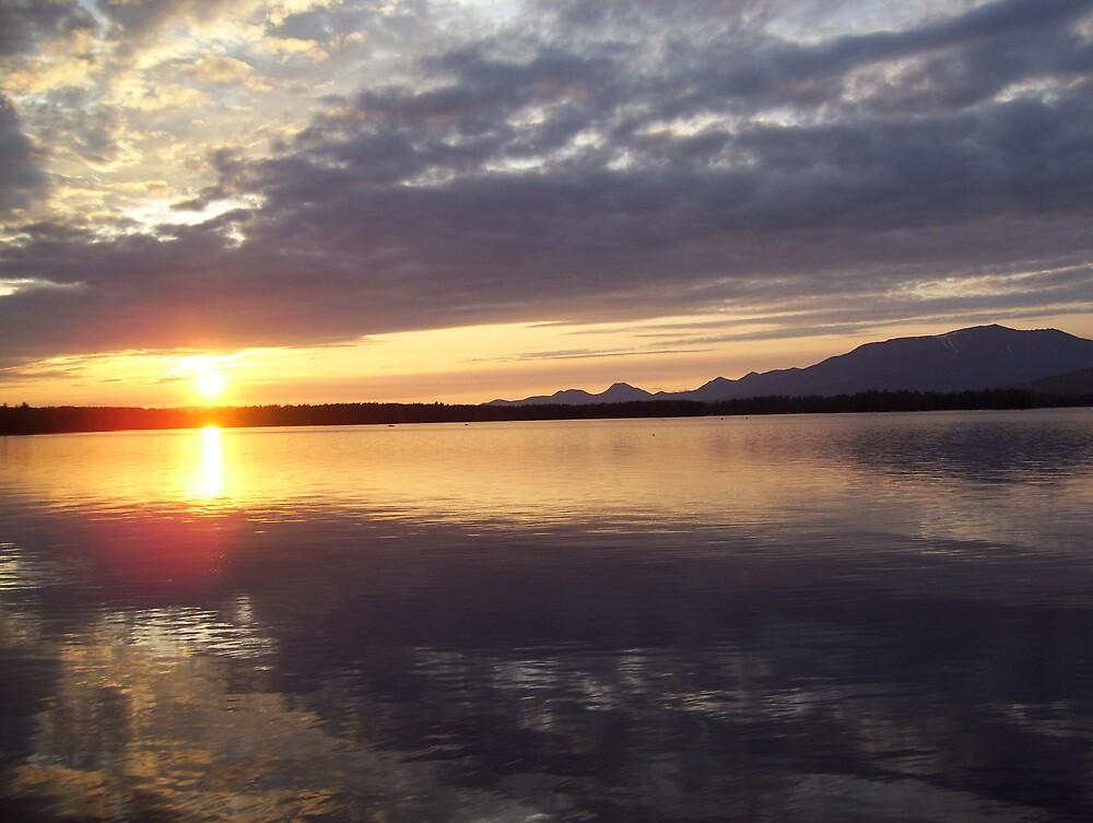 Blue Sky Sunset by K.Audrey Leto