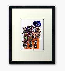 WHO'S YOUR HAMMY? Framed Print
