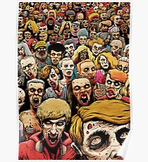 Zombie Horde Poster