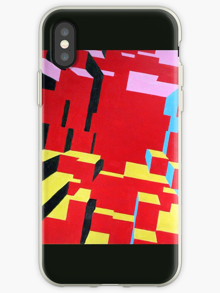 """""""City"""" iPhone Case, Version 2 by BurningCity"""