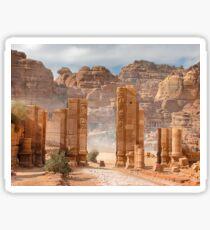 Temenos Gateway in Petra, Jordan Sticker