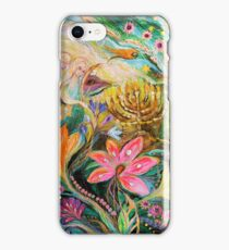Dreams about Chagall. The sky violin iPhone Case/Skin