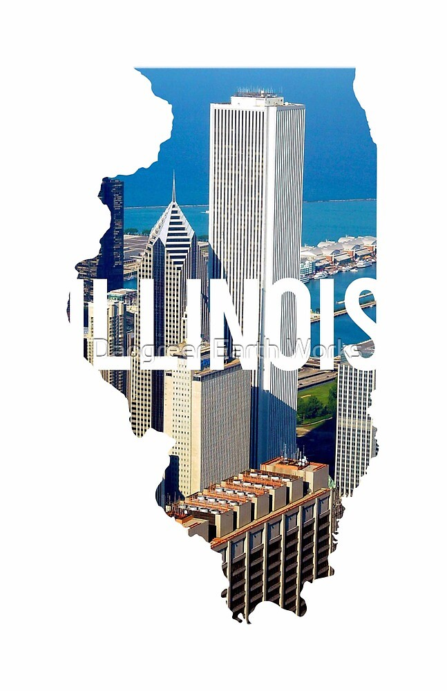 Illinois - Chicago by Daogreer Earth Works