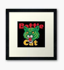 Battle Cat Fireworks Framed Print