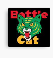 Battle Cat Fireworks Canvas Print