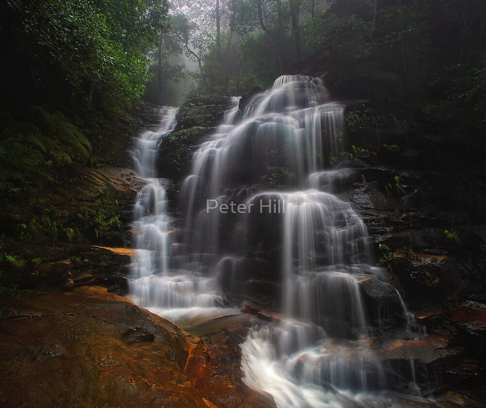 Sylvia Falls III by Peter Hill