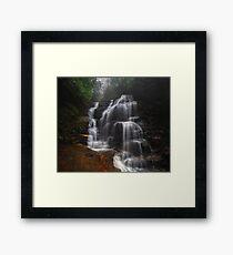 Sylvia Falls III Framed Print