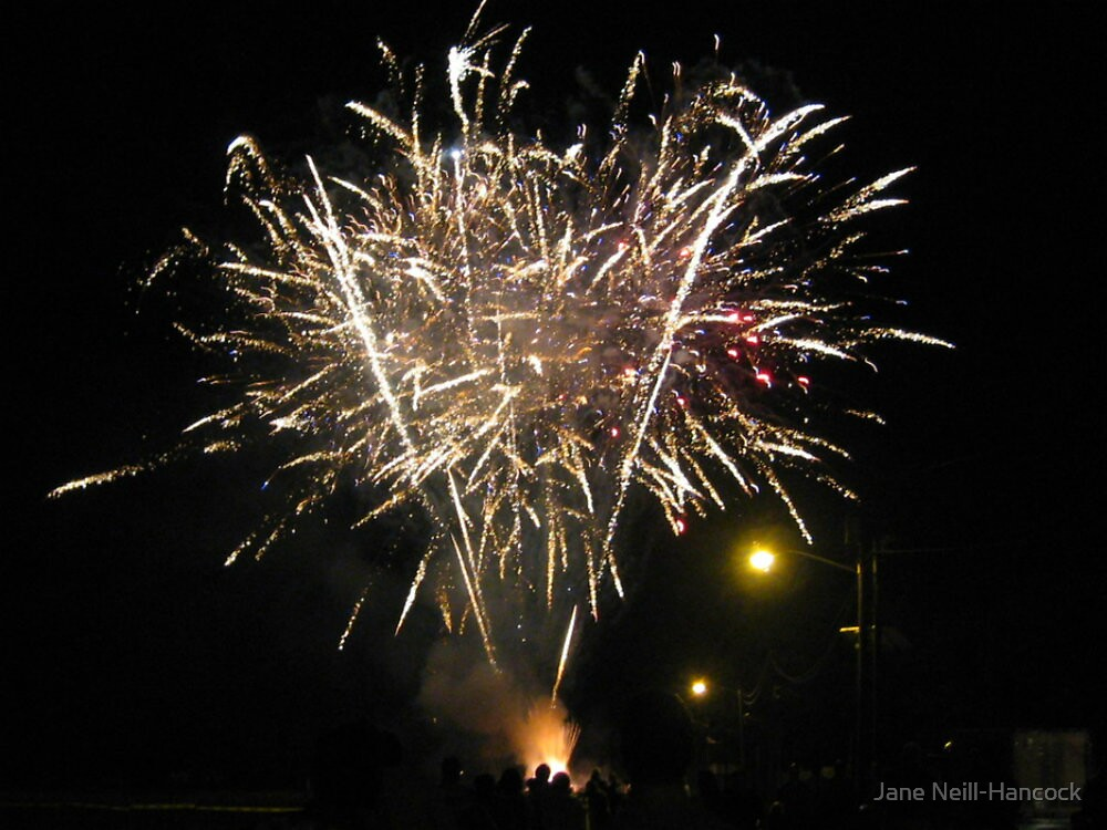 Fan of Fireworks by Jane Neill-Hancock