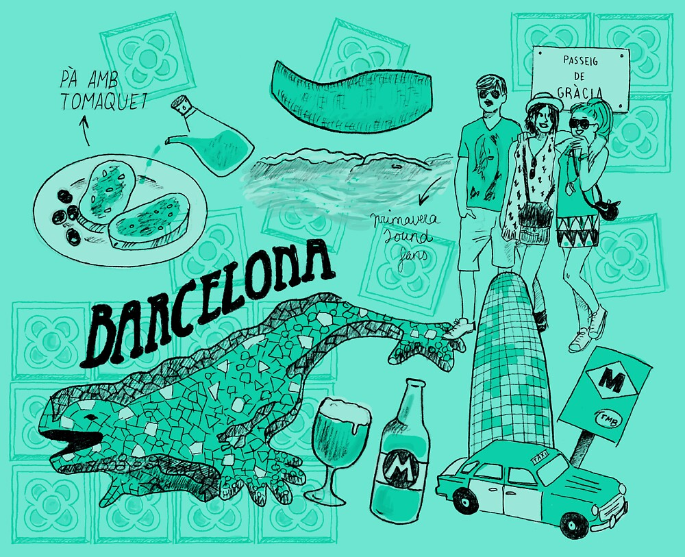 Barcelona by iriberta