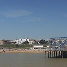 Clacton on Sea Pier and Seafront  by James1980