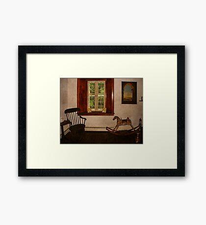 Gomez Mill House Commode Corner Framed Print
