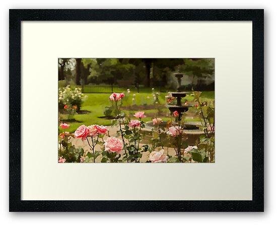 June's Flower by Marilyn Cornwell