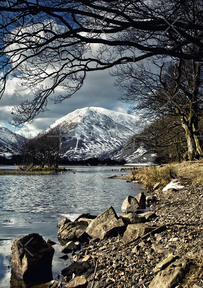 Brotherswater Winter by AJ Airey