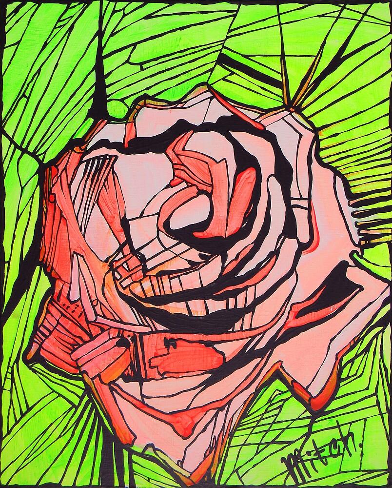 Nuteki rose by Dina Mazanik