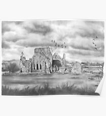 The Abbey by Gary Rudisill Poster