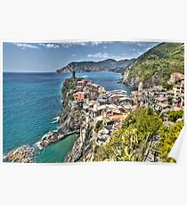 Vernazza Back View Poster