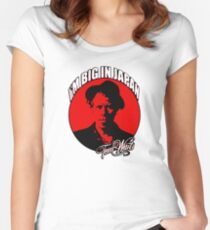 Big in Japan - Tom Waits Women's Fitted Scoop T-Shirt