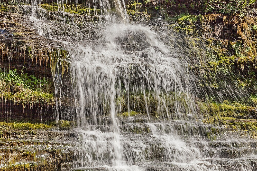 Cramell Lin waterfall Near Gilsland Spar by David Patterson