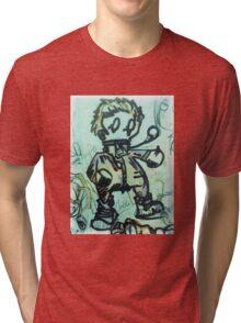Lomo Boxer Tri-blend T-Shirt