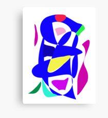 Blue Musical Instrument Canvas Print