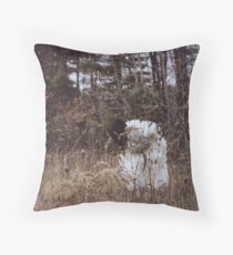 Wolf in Sheep's Skin Throw Pillow