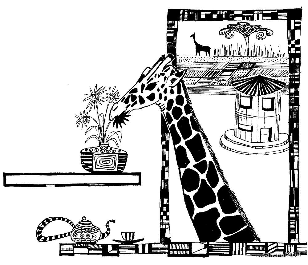The Hungry Giraffe by sahana1984