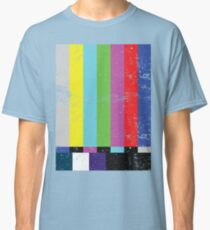 TV test Lines  Classic T-Shirt