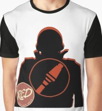 RED Soldier - Team Fortress 2 Graphic T-Shirt