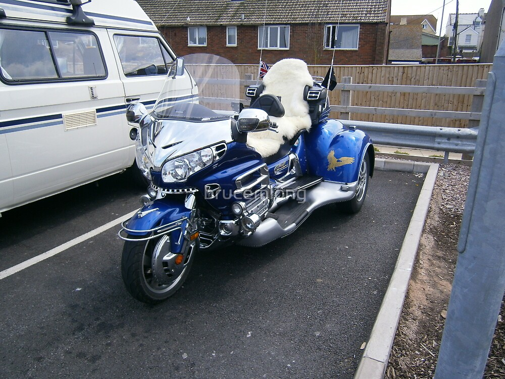customised goldwing by brucemlong