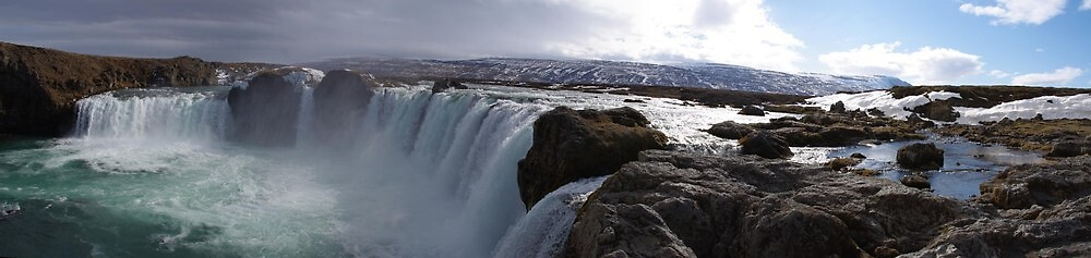 Godafoss Iceland by Freewilly