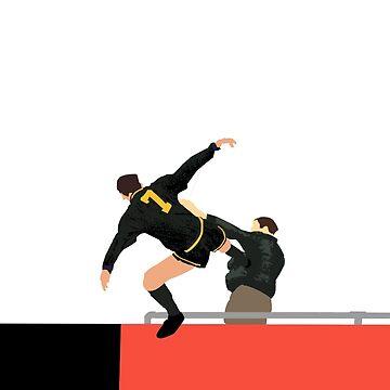 Kung Fu Cantona by westonoconnor