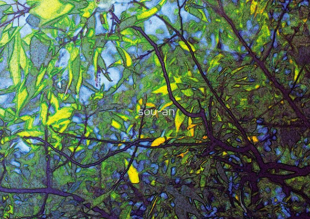 impression blue 1 by sou-an