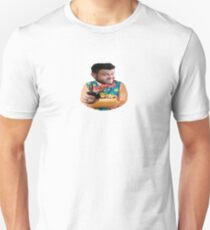 Adam Richman loves his lunch- Large photo Unisex T-Shirt