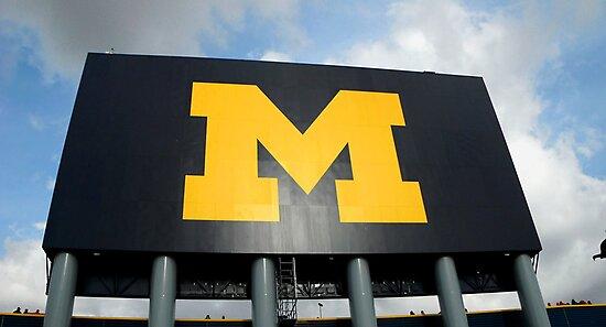 MICHIGAN vs OHIO STATE MICHIGAN STADIUM ANN ARBOR MICHIGAN NOVEMBER 2011 by photographized