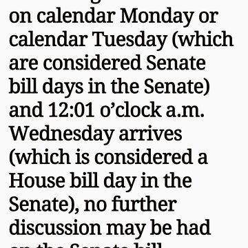 Midnight according to the Texas senate by pospreterito