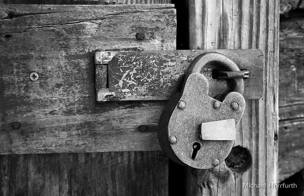 Lock B&W by Michael  Herrfurth