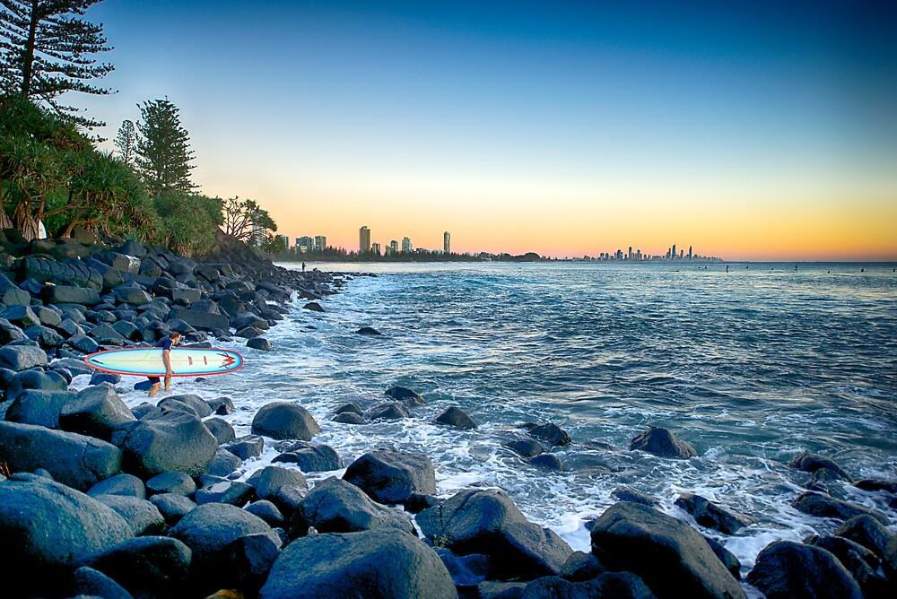 Surfers Sunrise by AnitaHammadache