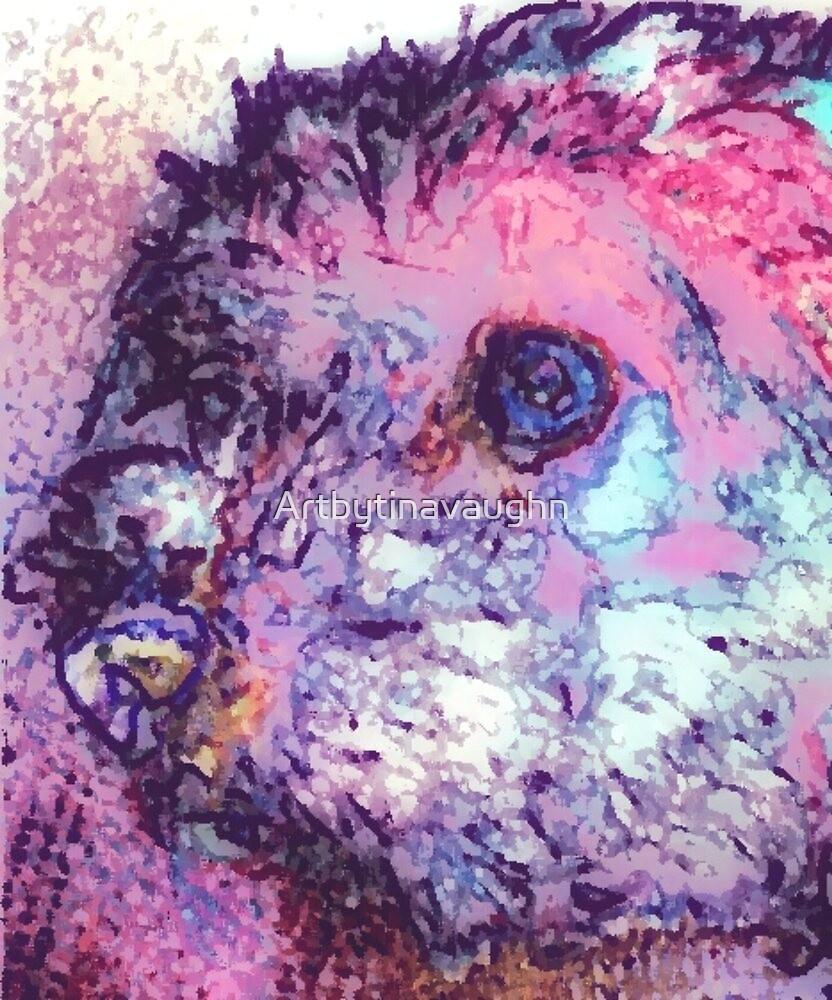 Purple Pooch by Artbytinavaughn